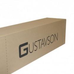 Zestaw Loft Pure Glass 70kg/1sk/2m regulowany czarny industrial