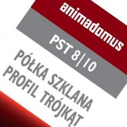 ZESTAW DO MONTAŻU PÓŁKI SZKLANEJ PST 8 10 - 30 cm
